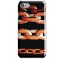 Rusting Chains iPhone Case/Skin