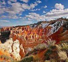 Aqua Canyon, Bryce National Park, Utah by Martin Lawrence