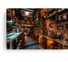 Bodega Monumental Tapes Bar Canvas Print