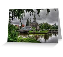 Holland..The City of Leiden .. an endless photo-source.. Greeting Card
