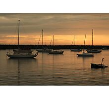 Sunrise over the Harbour Photographic Print