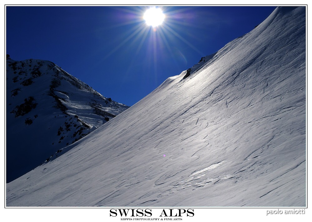 swiss alps by paolo amiotti