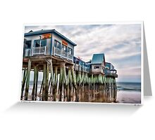 The Pier Greeting Card