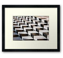 Dazzling Steps Framed Print