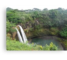 Hawaiian Falls Canvas Print
