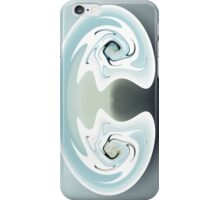 mirrored anger iphone iPhone Case/Skin