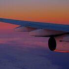 Aerial sunrise by Explorations Africa Dan MacKenzie