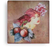 Peaches Remind Me of You Canvas Print