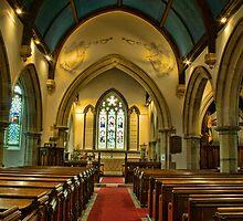 St Mary's Church, Frittenden - interior by Dave Godden
