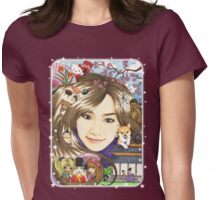 Japanese Culture Womens Fitted T-Shirt