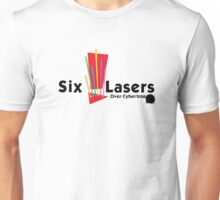 Six Lasers Over Cybertron Unisex T-Shirt