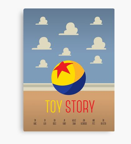 Toy Story Minimalism Canvas Print