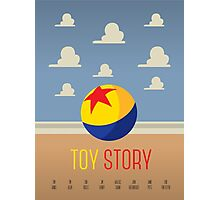Toy Story Minimalism Photographic Print