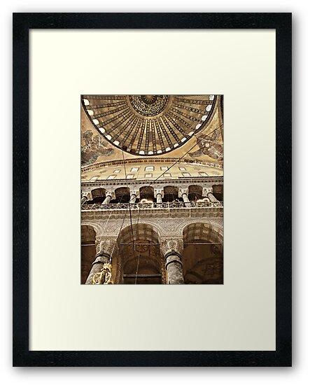 Hagia Sophia Dome, Istanbul by Raftman