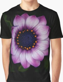 Osteospermum Dark Graphic T-Shirt