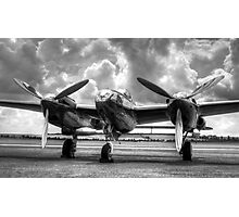 P-38 Lightning Photographic Print