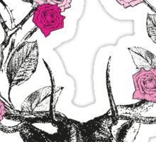 The Stag & Roses Sticker