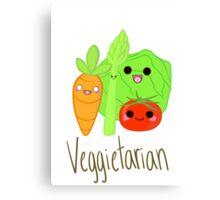 Veggietarian Canvas Print