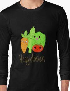 Veggitarian Tshirt Long Sleeve T-Shirt