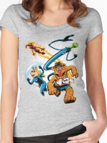 The Muptastic Four Women's Fitted Scoop T-Shirt