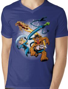 The Muptastic Four Mens V-Neck T-Shirt