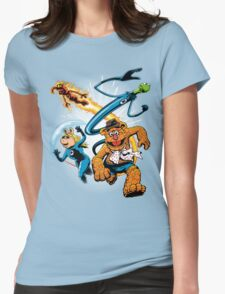 The Muptastic Four Womens Fitted T-Shirt