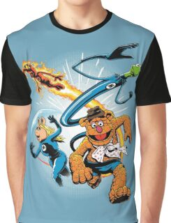 The Muptastic Four Graphic T-Shirt