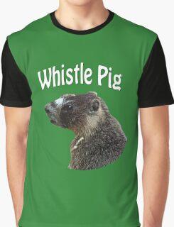 Rocky Mountain Marmot Graphic T-Shirt