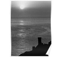 Sunrise over Castillo  Poster