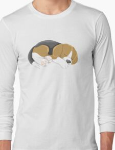 Sleeping Puppy Long Sleeve T-Shirt