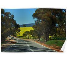 A Canola Crop in Western Australia Poster
