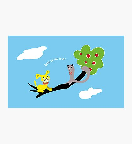 Bark up My Tree Photographic Print