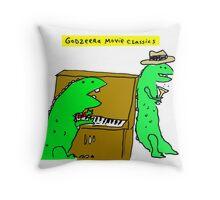 Movie Classics of Large Lizard  Throw Pillow