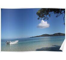 Serenity In Fiji. Poster