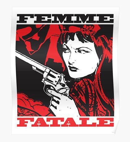 Femme Fatale (Girl with a Gun) Poster