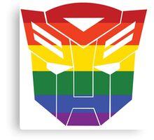 Autobot Pride [Homosexuality] Canvas Print