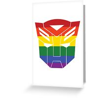 Autobot Pride [Homosexuality] Greeting Card
