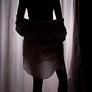 Silhouetted woman by MattReeves