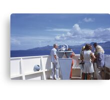 World Cruise 1972 Canvas Print