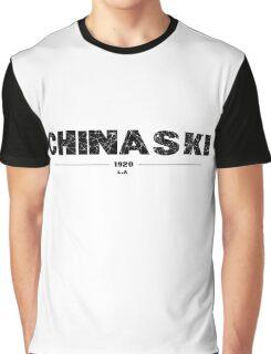 HENRY CHINASKI Graphic T-Shirt