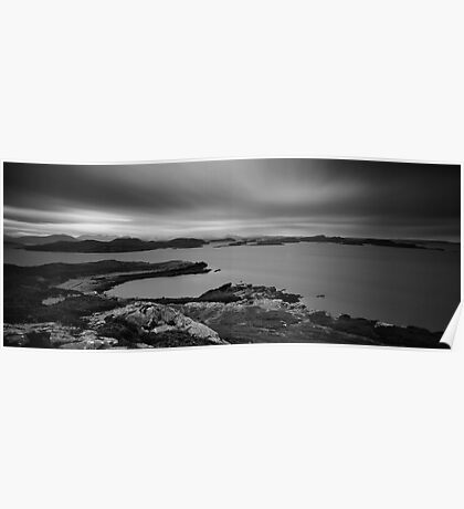 The Summer Isles From Meall Dearg, Scottish Highlands Poster