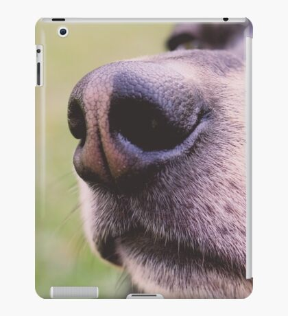 THE NOSE KNOWS iPad Case/Skin