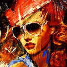The Lady in Glasses (VIEW LARGE) by deborah zaragoza