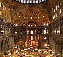Hagia Sophia, Istanbul by Raftman