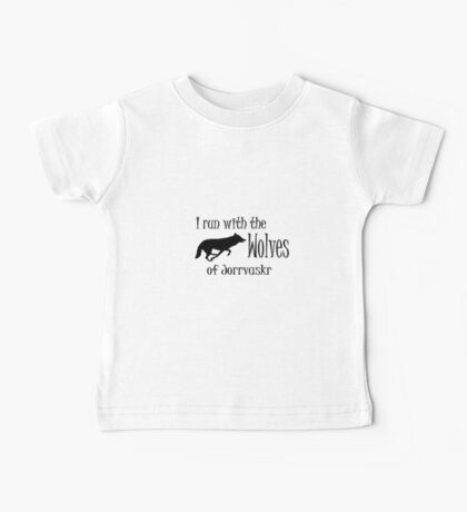 Running with the Wolves Baby Tee