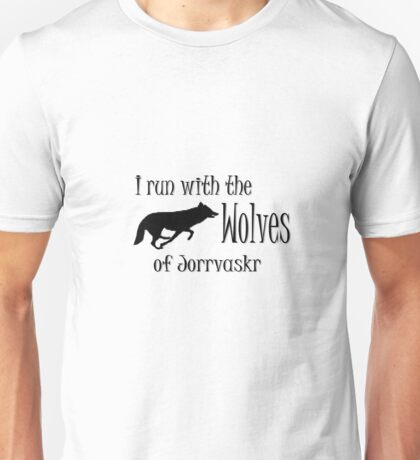 Running with the Wolves Unisex T-Shirt