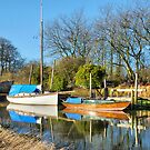 High Tide at Skippool Creek. by Lilian Marshall