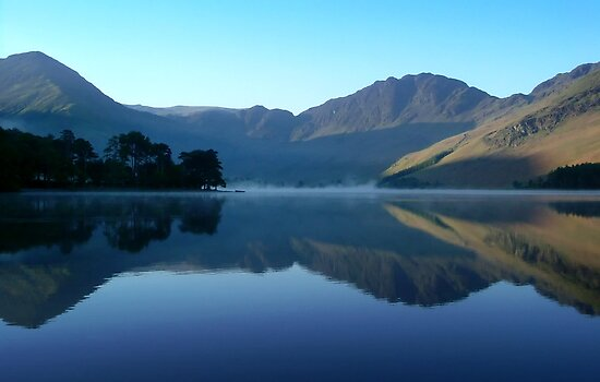 Mountain Reflection, Buttermere, Lake District by Jim Round