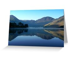 Mountain Reflection, Buttermere, Lake District Greeting Card