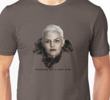 Everybody Has A Dark Side Unisex T-Shirt